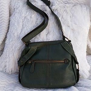 EUC BOC Green Shoulder Bag